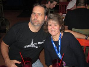 Geeks - The Unique Geek Board of Directors Dinner - Jon and Leigh